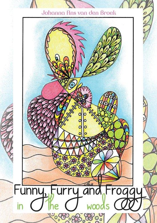 Kleurplaten Verjaardag Buurvrouw.Bol Com Funny Furry Froggy In The Woods A4 Johanna Ans Van
