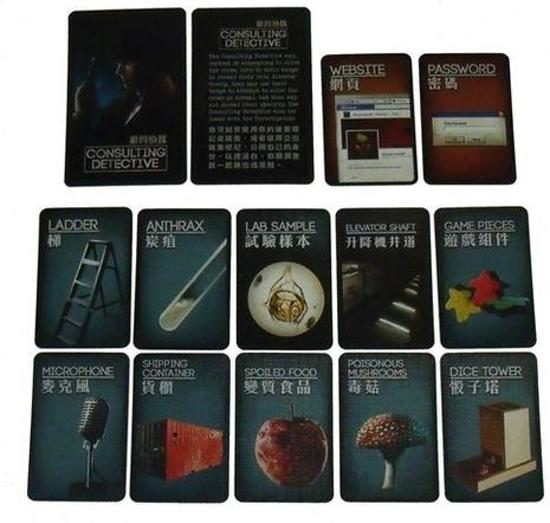 Deception Murder in Hong Kong Original Kickstarter Pack