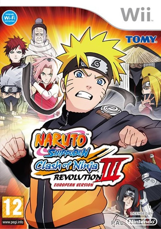 Naruto Shippuden: Clash of Ninja 3 Revolution kopen