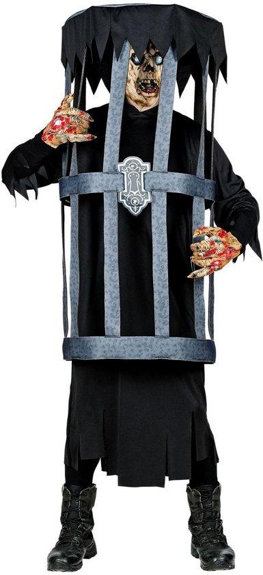 Zombie Kostuum   Zombie In Een Kooi Kostuum   Large / XL   Halloween   Verkleedkleding