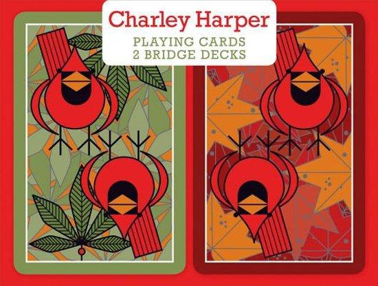Afbeelding van het spel Charley Harper Bridge Playing Cards
