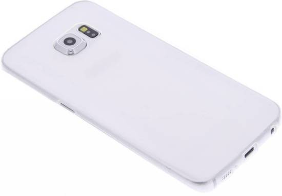 Bleu Ultra Mince Cas De Tpu Transparent Pour Le Bord De Galaxie Samsung 4U7oPF