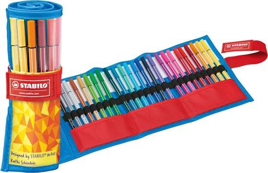 STABILO Pen 68 Rollerset Fan Edition - Blauw