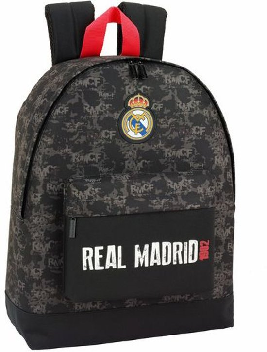 "Real Madrid Rood Detail - Laptop Rugzak - 15,6"" - 43 cm - Multi"