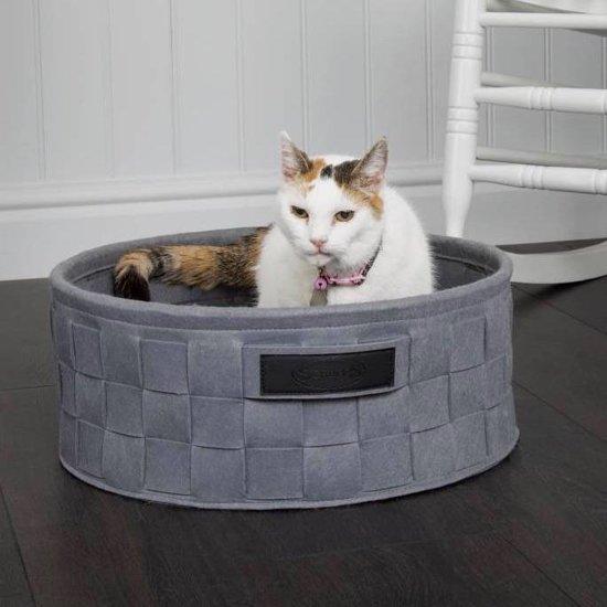 Scruffs Habitat Kattenmand - Grijs - Ø45 cm
