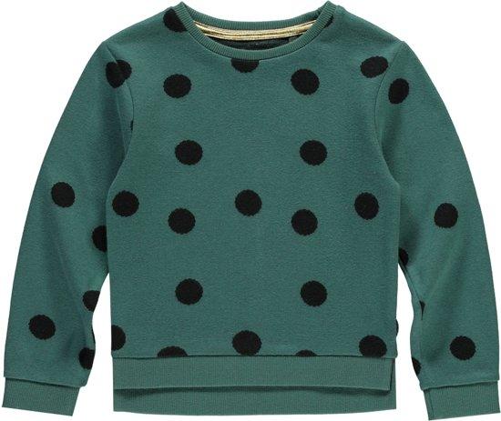LEVV mini trui Ellen pine green dot
