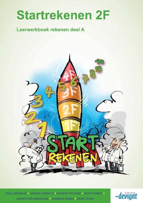 Startrekenen - Leerwerkboek rekenen - 2F - Deel B