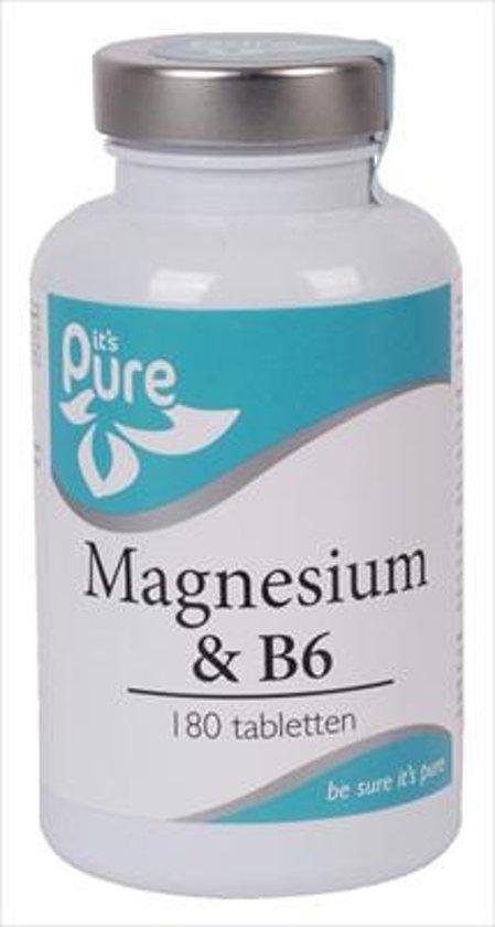 It's Pure Magnesium & B6 180TB
