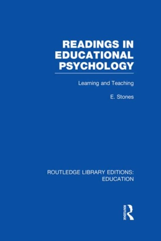 abecedarian educational psychology and new readers