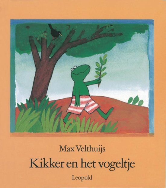 Boek cover Kikker - Kikker en het vogeltje van Max Velthuijs (Hardcover)
