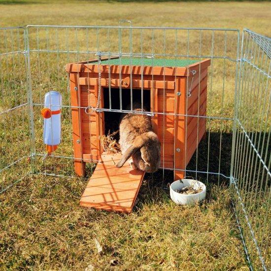 Trixie natura knaagdierhuis bruin 42x43x51 cm