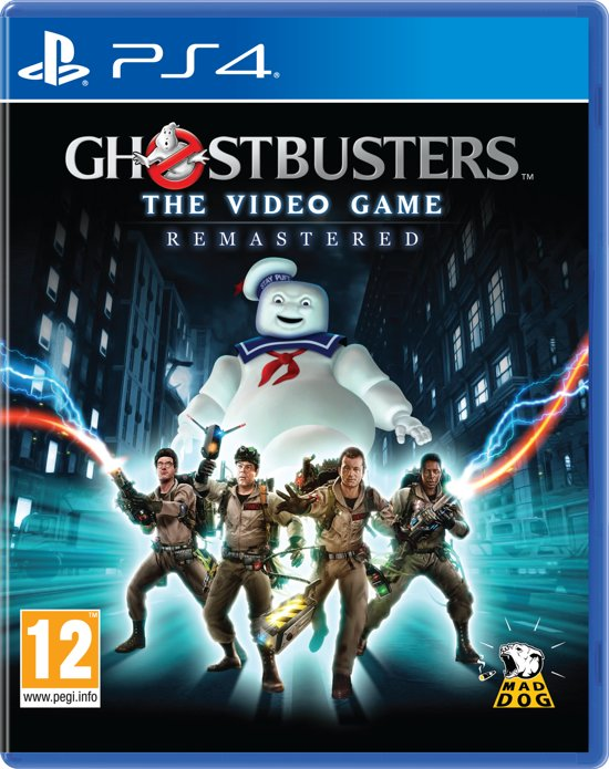 Cover van de game Ghostbusters The Videogame Remastered - PS4