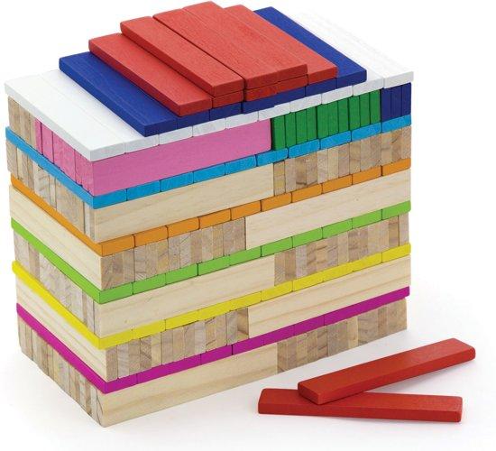 Afbeelding van Fantasie Houten Bouwblokken - 250 stuks speelgoed