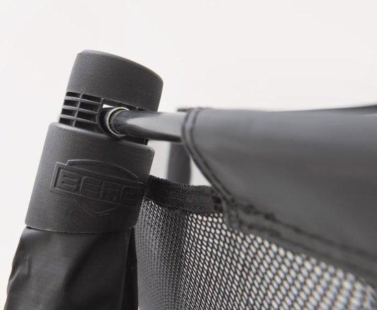 BERG Elite+ InGround Tattoo Trampoline - 430 cm - Inclusief Veiligheidsnet T-series - Rood