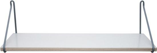 Plank Aan Wand.Bol Com Sebra Wand Plank Grijs