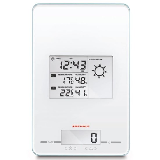 Soehnle Page Meteo Center 5-in-1 – Wit – 66223