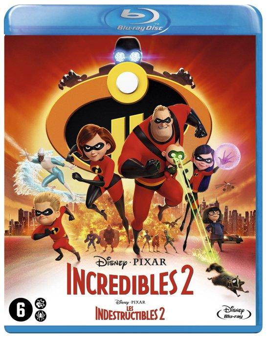 DVD cover van Incredibles 2 (Blu-ray)