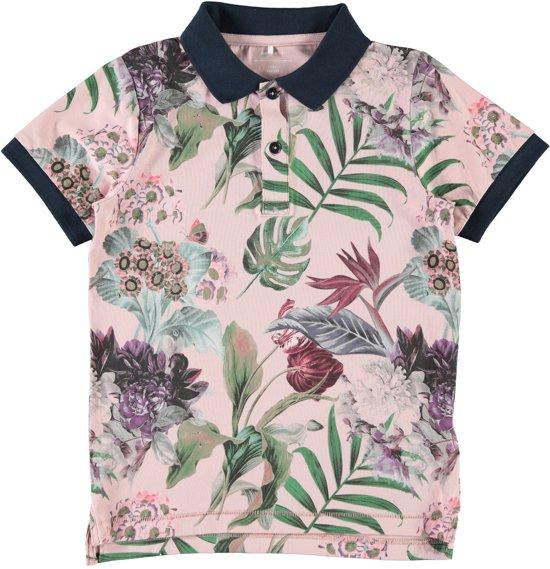 ec405d47b6deb5 bol.com   Name it Jongens T-shirt - Silver Pink - Maat 134-140