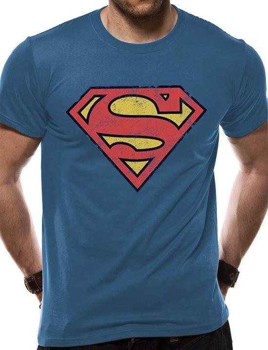 Superman Vintage Logo TShirt XL