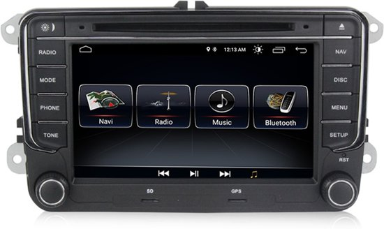 RNS 510 Fit Sat Nav VW Seat Skoda 7 - with Android 8 1
