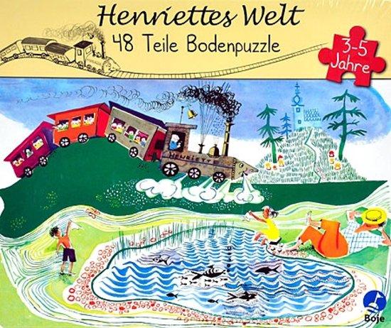 Henriettes welt vloerpuzzel