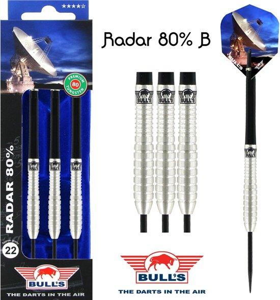 Bull's Radar 80% B 26 gram Steeltip Darts