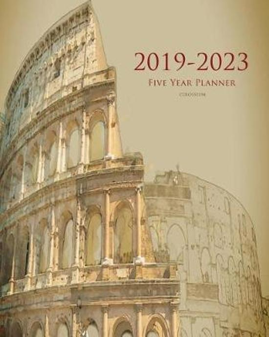 2019-2023 Colosseum Five Year Planner