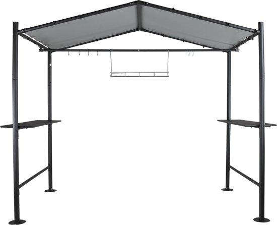 Tent Overkapping Tuin : Bol sorara milano barbecue overkapping donkergrijs x