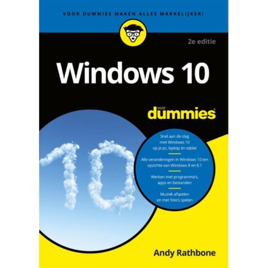Voor Dummies - Windows 10 voor Dummies