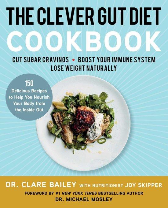 Boek cover The Clever Gut Diet Cookbook van Dr. Clare Bailey (Onbekend)