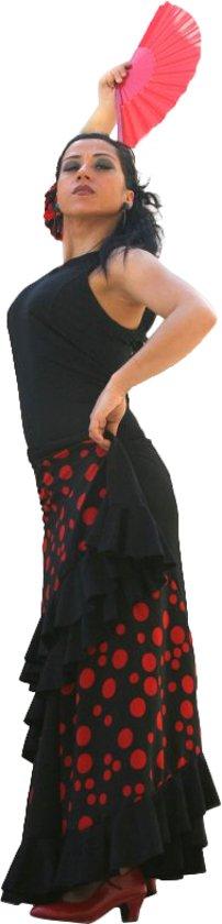 Zwart Rode Jurk.Bol Com Spaanse Jurk Dans Jurk Flamenco Zwart Rode Stippen