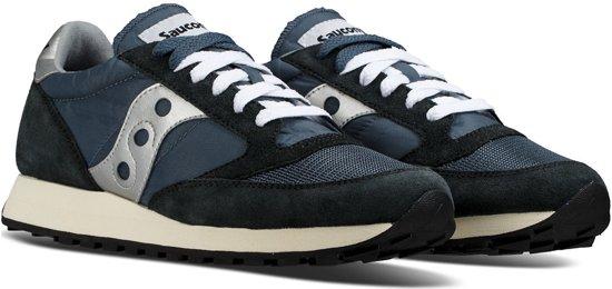 Maat Jazz Sneakers Vintage silver Heren Blue Saucony Navy 5 Original 44 8qTdwStO