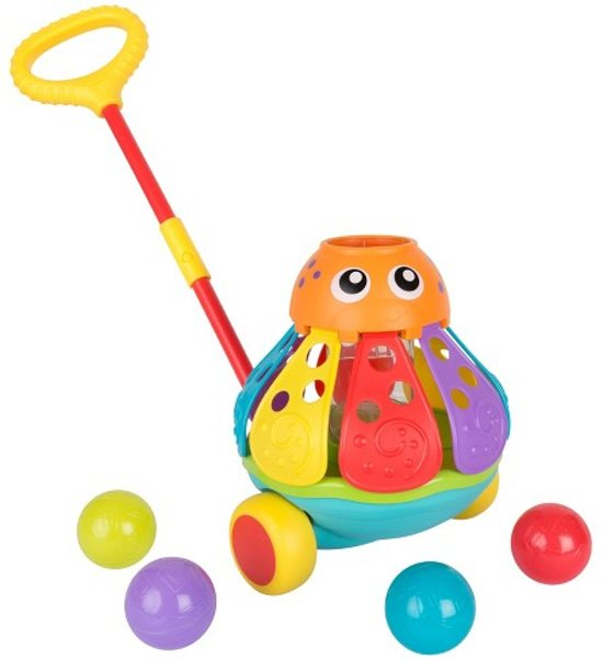 68efe65179d bol.com | Push Along Ball Popping Octopus, Playgro | Speelgoed