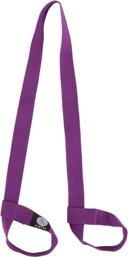 Yoga Mat Draagriem 100% Katoen | All Mat Sizes | Paars