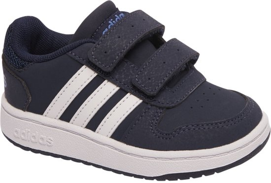 5c76e9e30d4e7b bol.com | adidas Kinderen Blauwe Hoops 2.0 - Maat 27