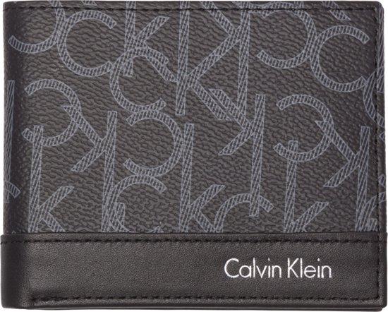 Trendy Heren Portemonnee.Bol Com Calvin Klein Greg Mono Slimfold 6cc Heren Portemonnee