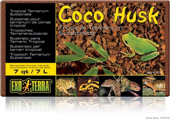 Exo Terra - Terrarium Bodembedekking Coco Husk kokoschips - 500GR/7L