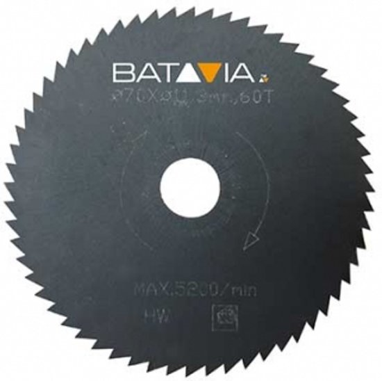 Racer HSS zaagblad 44t ∅70mm - 2 stuks 7061497 Batavia