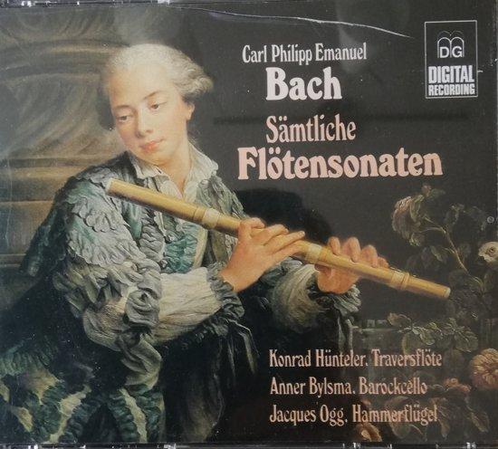 "C.P. E. Bach  ""Sämtliche Flöten Sonaten"""