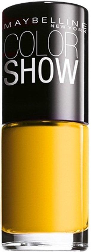 Maybelline Colorshow Electric Yellow - 749 - nagellak