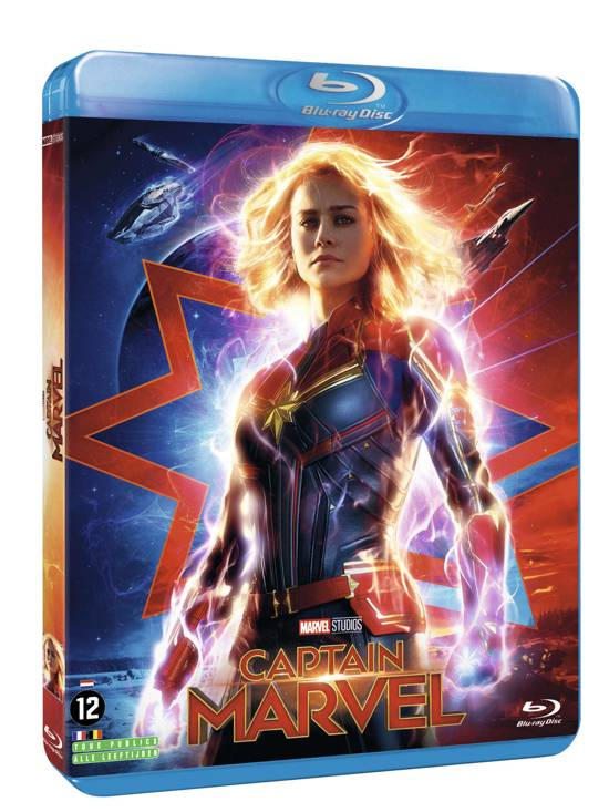 DVD cover van Captain Marvel (Blu-ray)