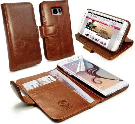 tui En Cuir Brun Pour Tpu Samsung Galaxy S Edgeplus ukqDHFBVPf