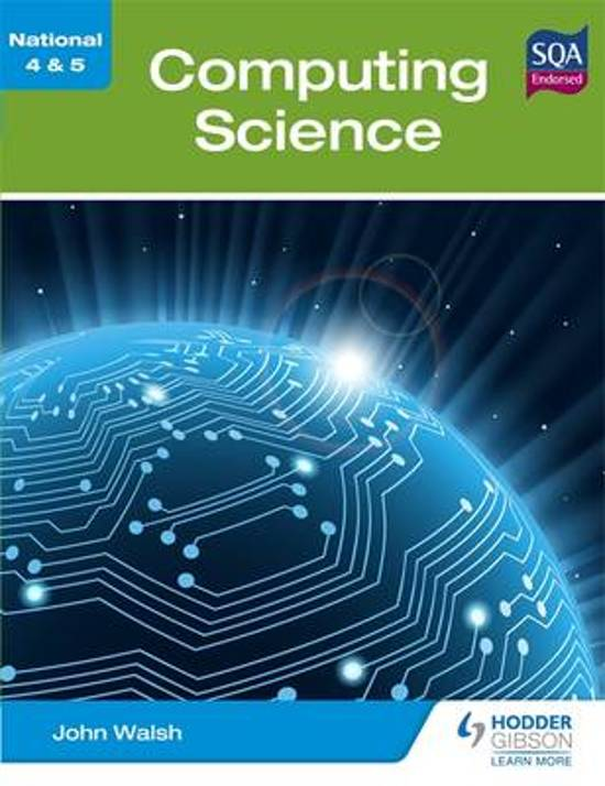 national 5 computing science coursework Course and revision materials computing science national 4/5 course textbooks name author publisher national 5 computing science success guide.