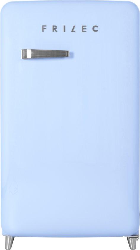 Frilec BERLIN168-9A++ - Retro Kastmodel koelkast - Blauw