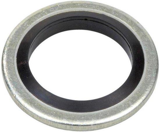 Onderlegring - Bonded Seal - 6,2x9,2x1 - Staal / NBR