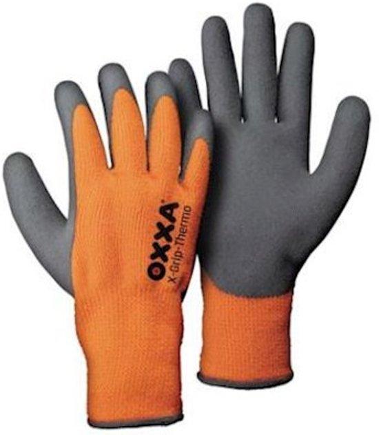 c04cf2daac6d41 bol.com   OXXA X-Grip-Thermo handschoen 51-850 oranje/ grijs maat 11