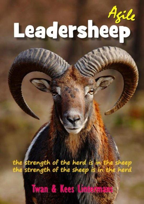 Boek cover Agile leadersheep van Twan En Kees Lintermans (Paperback)