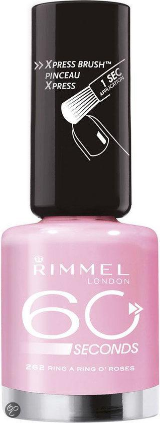 Rimmel 60 seconds finish nailpolish - 262 Peek a boo in Hyde Park - Nailpolish