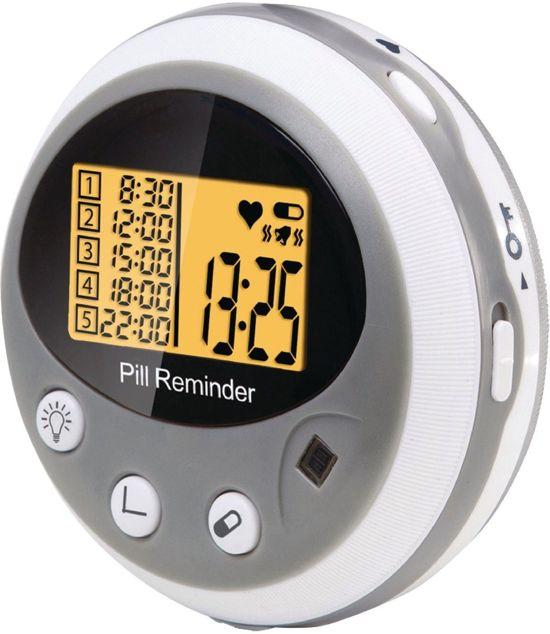 Alecto Care ACP-80 Elektronische Pillendoos met Alarm | Medicijnen Doos