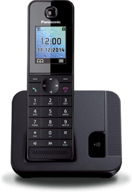 Panasonic Kxtgh210Nlb - Single - DECT - Zwart in Kokkelert